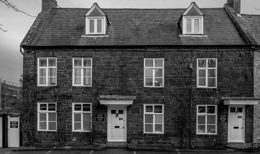 1 London Road, Wellingborough, Northamptonshire Architecture Monochrome Photography Northamptonshire Monochrome Town FUJIFILM X-T2 Urban Black And White Wellingborough Street