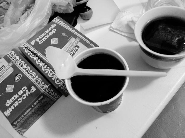 Ложка и кофе Novosibirsk