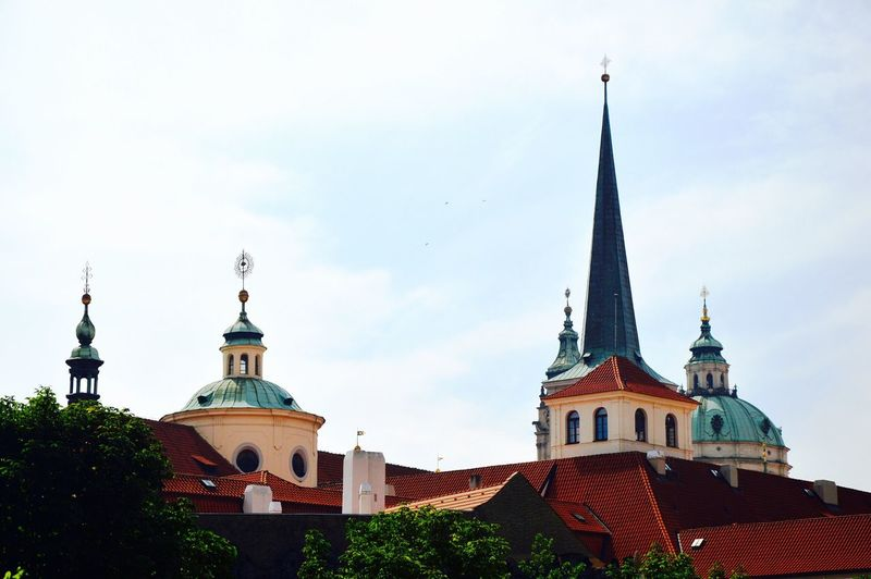 Cathedral against sky