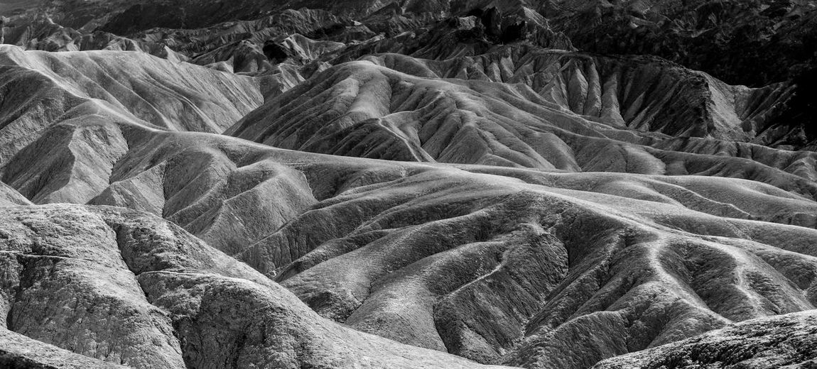 Black And White Photography Death Valley National Park Geology Incredible Place Moon Surface Natural Pattern Pattern Rock Formations Rough Salt Bed Weird Shapes