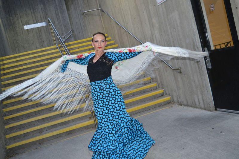 Feliz día de Flamenco!!!! Flamenco Dance #spain Outdoors Portrait Smiling Looking At Camera Colorful