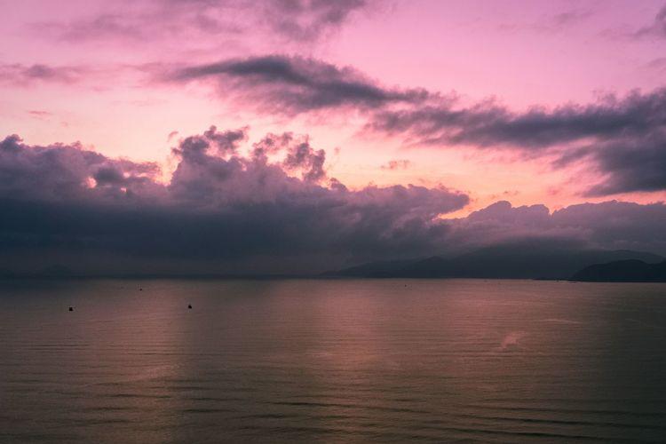 Water Sunset Mountain Lake Reflection Dramatic Sky Sky Landscape Cloud - Sky