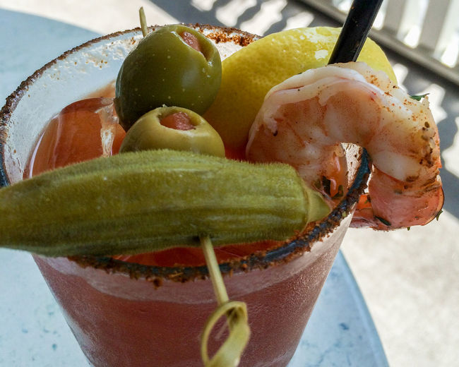 ©Amy Boyle Photography Bar Bloody Mary Close-up Day Drink Drinking Food Food And Drink Freshness Indoors  No People Ready-to-eat Shrimp