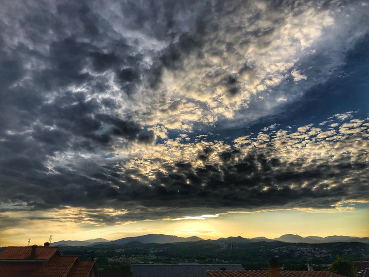 Cloud - Sky Sky Beauty In Nature Architecture Scenics - Nature Nature No People