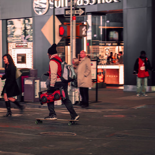 Blurred Motion City City Life Oneway Outdoors Person Street Street Photography Streetphotography Walking New York City Night Photography Capital Cities  Canon Travelphotography New York Travel Destinations