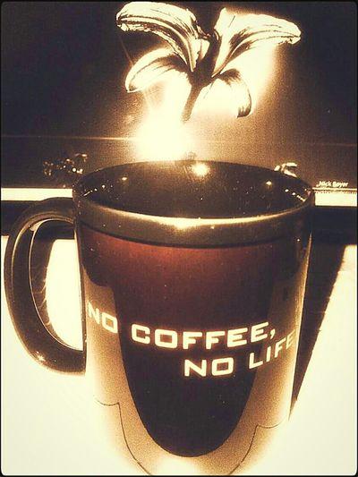 Eyeemvietnam Coffee ☕ Screenshot Flower Cup&flower Nocoffeenolife