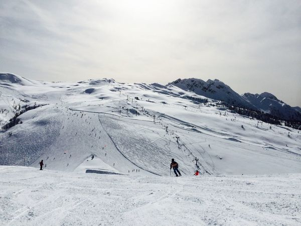 Adventure Cold Cold Temperature Day Desert Italy Landscape Mountain Outdoors Skiing Snow Snowcapped Weather White Winter