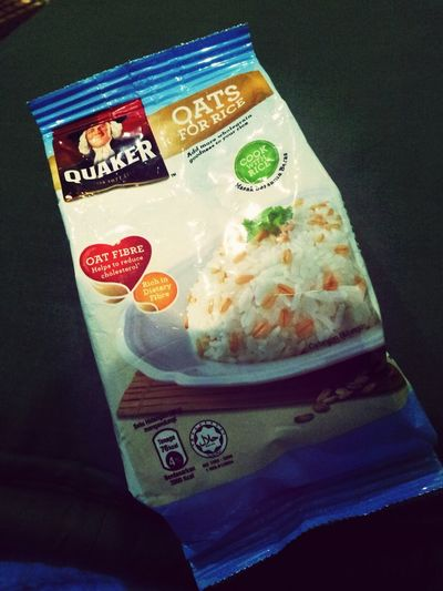 our diet food. adding fiber to ur meal Gohealthy Makan! Diet Quakeroat #oatfiber