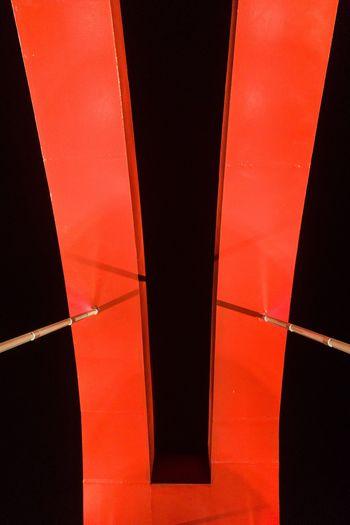 red bridge EyeEmNewHere Light Red And Dark Colourful Landmark Beauty Mirror Science City Guangzhou Close-up Architecture Light Red And Dark Colourful Landmark Beauty Mirror Science City Guangzhou Close-up Architecture