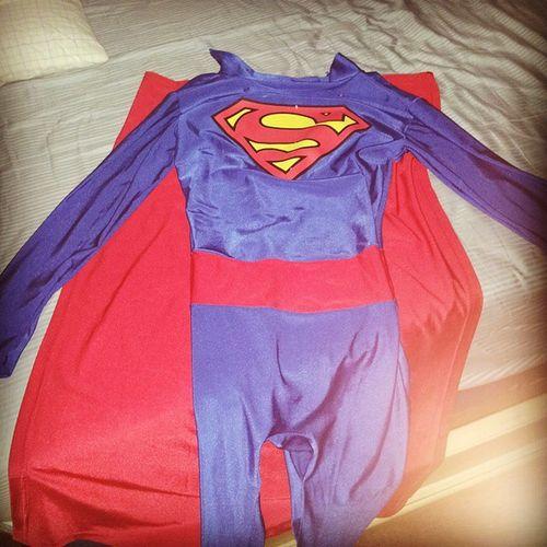 The suit finally came. Fashion show here I come. @i_am_third_ Fashionshow Superboy