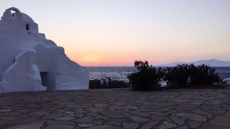 Sunsets 🌅 Mykonostown Architecture Sun