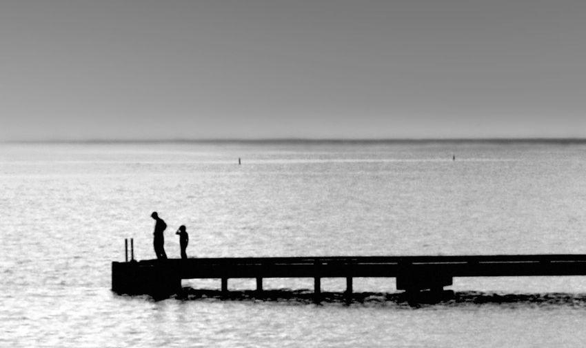 Jetty Water Sea