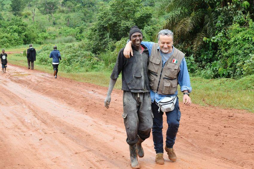 Uganda  Africa Men Friends Street Forest Volunteer Tree Togetherness Smiling Senior Adult Full Length A New Beginning