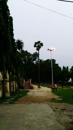 A Park Beside River Ganga At Shyamnagar