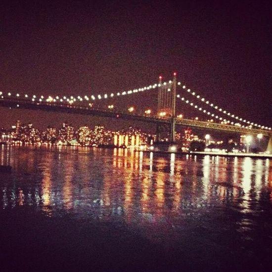Το ωραιότερο μου ταξίδι ever!!! Instamerica Instausa Bridge Manhattan NYC NewYork light city night life culture photography travelling worldtraveler