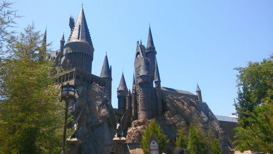 Scenery Shots Hogwarts Castle Universal Studios  Harry Potter World 2016