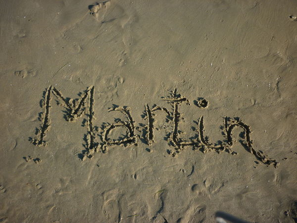 Me Backgrounds Close-up Day Full Frame Martin Name Nature No People Outdoors Sand Shore Write On Sand
