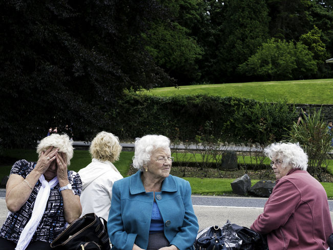 The Day Trip. Lake Windermere, Cumbria. Casual Clothing Cumbria Day Trip Lake District Lake Windermere Old Ladies Street Photography Togetherness Women Around The World