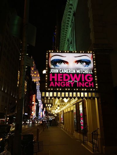 HedwigAndTheAngryInch Hedwig And The Angry Inch Hedwig On Broadway John Cameron Mitchell Broadway