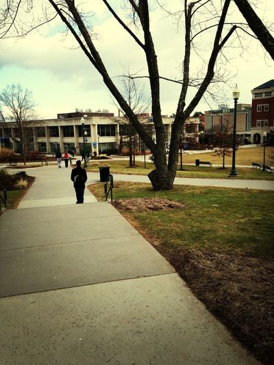 Never Seen A Campus So Empty