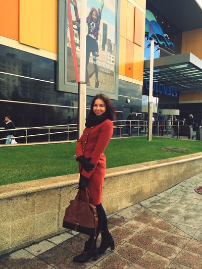 I Love My City Moscow Cold Autumn Autumn Colors Today's Hot Look