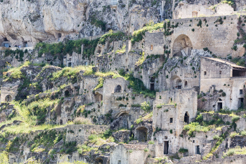 Ancient Ancient Civilization Architecture Building Building Exterior Built Structure Castle Culture Famous Place Fort Geometry Historic History House Old Old Ruin Outdoors Ruined Sassidimatera The Past Town