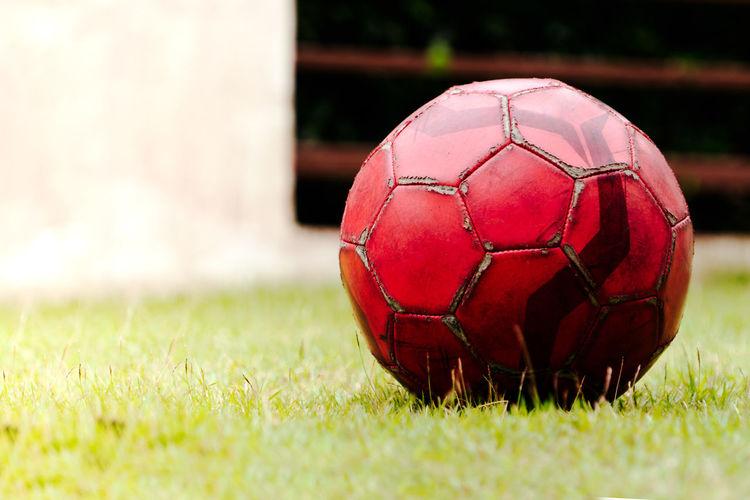 old football on