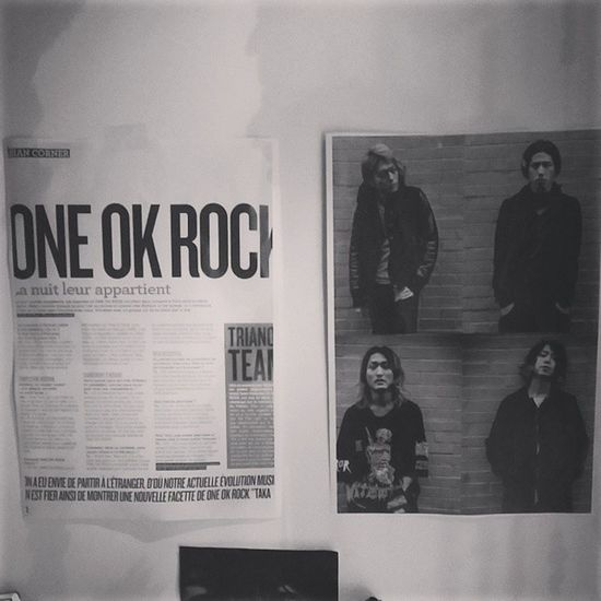 Magazine OOR ONEOKROCK Concert interviews trianon love photocopy
