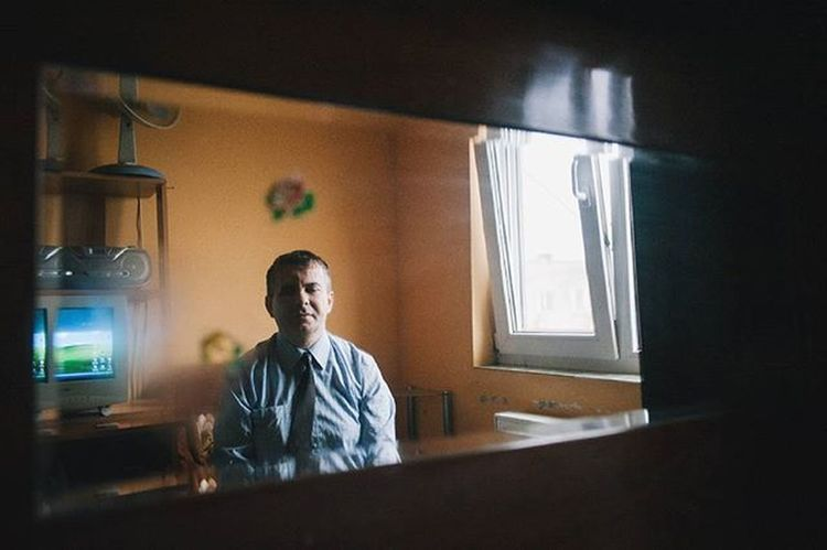 """Florin, a blind man, enjoys a quiet moment. Arad, Romania, 2016. This image is part of my ongoing project """"Out of the dark"""", about the lives of blind people. More on www.ciprianhord.ro. Photo by Ciprian Hord/@ciprianhord Reportagespotlight Romania Ciprianhord Myfeatureshoot Outofthedark LCStories"""