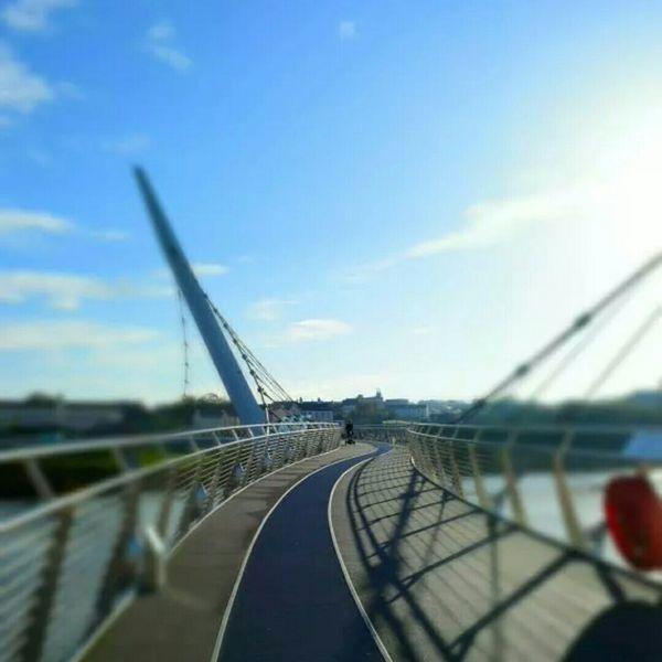 Oct 2014 Belfast Irlande Bridge Of Liberty Travels Voyages