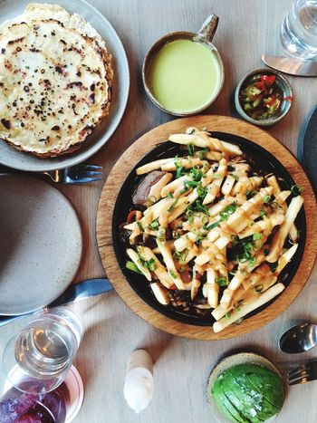 Topdown Grub Food Foodpics Frenchfries Peruvian