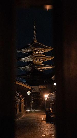 Framed Temple