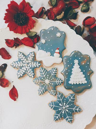 親手做出暖暖的祝福 Happiness Handmade MerryChristmas Icing Cookies