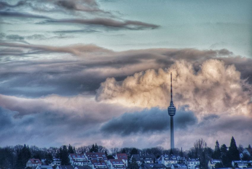 TV Tower Tv Tower Stuttgart Beauty In Nature Cloud - Sky Tower Architecture Day Outdoors No People Sky Nature Landscapes Clouds And Sky Scenics Tranquility Eyeem0711 The Great Outdoors - 2017 EyeEm Awards Perspectives On Nature