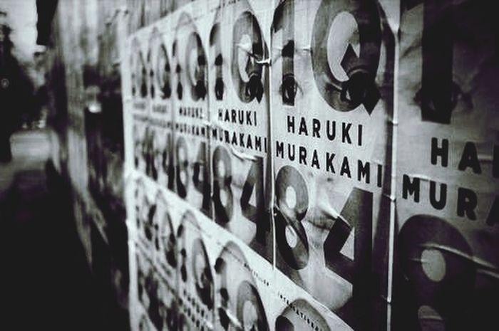 Urban Books Haruki Murakami Blackandwhite