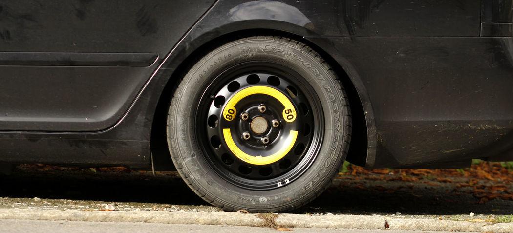 Autopanne Ersatzrad Notrad Panne Reifen Reifenwechsel Reserve
