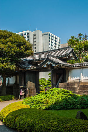 Architecture Building Exterior Built Structure Day Exterior Garden Imperial Palace, Japan No People Residential Building Residential Structure