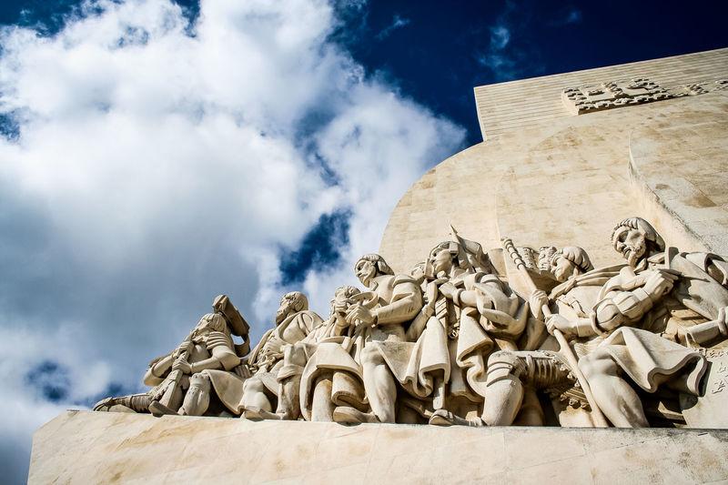 Padrão dos Descobrimentos in Belém/Lissabon. Belém Denkmal Entdecker Famous Place Hafen Harbour Heinrich Henrique Lisboa Lisbon Lissabon Padrão Dos Descobrimentos Portugal Seefahrer