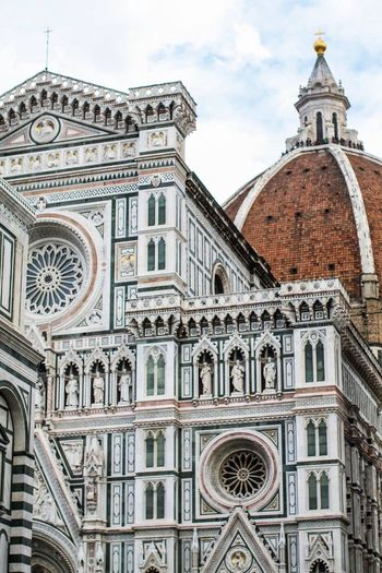 Florence is a beautiful place Architecture Building Exterior Low Angle View Travel Destinations Cathedral Tourism Dome Duomo Santa Maria Del Fiore History Italy
