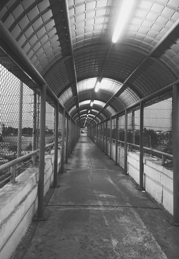 The Way Forward No People Architecture Built Structure Day Bridge Road Dark Darkness Going Home Night Lonely Loneliness