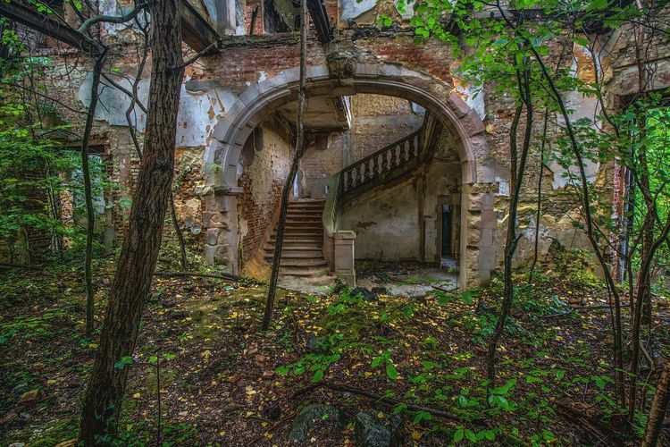 View of old abandoned building