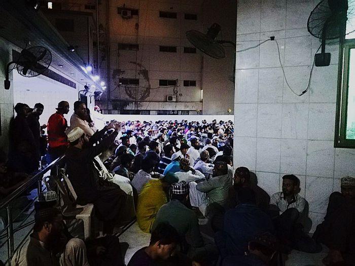 #muslim Inner Power Crowd Men Illuminated Arts Culture And Entertainment Nightlife Happy Hour
