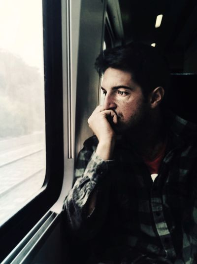 Wondering Tintype Mytrainmoments Color Portrait EyeEm Best Shots EyeEm Best Edits Eye4photography  Train Portrait RePicture Masculinity The Portraitist - 2016 EyeEm Awards Mydtrainmoments My Commute