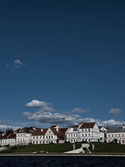 Buildings against sky in city