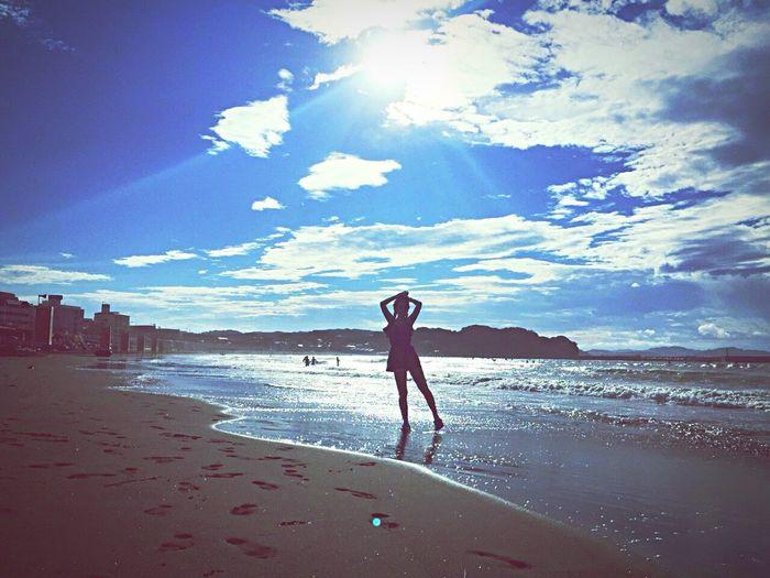 Hello World Sea And Sky Enjoying Life F4F Beautiful Sky