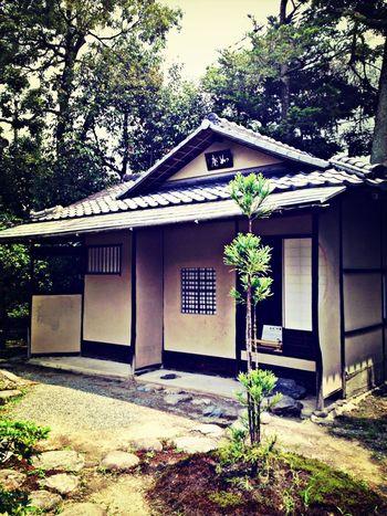 Japanese Style Architecture Tea Room Traveling 茶室「如庵」