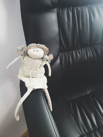 Doll In The Chair Dude Indoors  Toy Stuffed Toy Human Body Part Doll Teddy Bear Human Hand Day