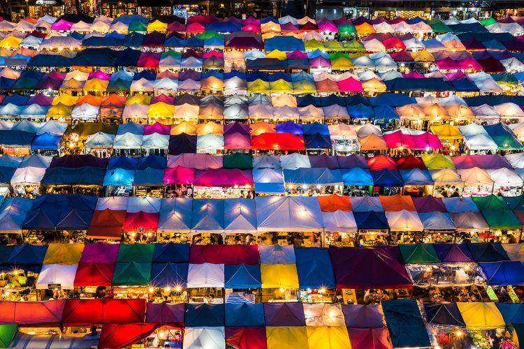 colorful night market Colorful Twilight Night Nightphotography Tourist Night Market Multi Colored Backgrounds Full Frame Pattern