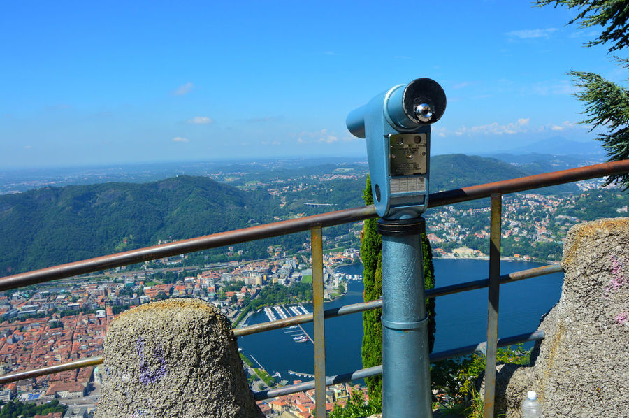 Amazing pointview of Lake Como, Italy Architecture Binocular Binoculars City Cityscape Coin Operated Coin-operated Binoculars Como Como Lake Comolake Day Hand-held Telescope Lake Lake View Lakeview Nature No People Observation Point Outdoors Point Of View Pointofview Sky Technology Telescope Water EyeEmNewHere