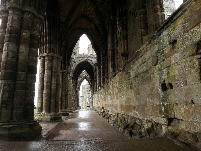 Corridor In Whitby Abbey